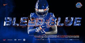 Boise State Football Spring Poster