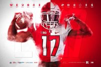 Rutgers Spring Football Poster