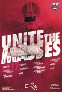 UMass Football Poster
