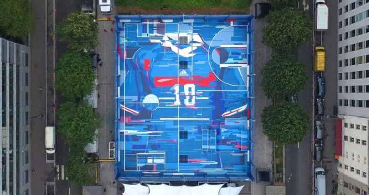 Focus sur 4 projets mêlant terrain de sport et street-art