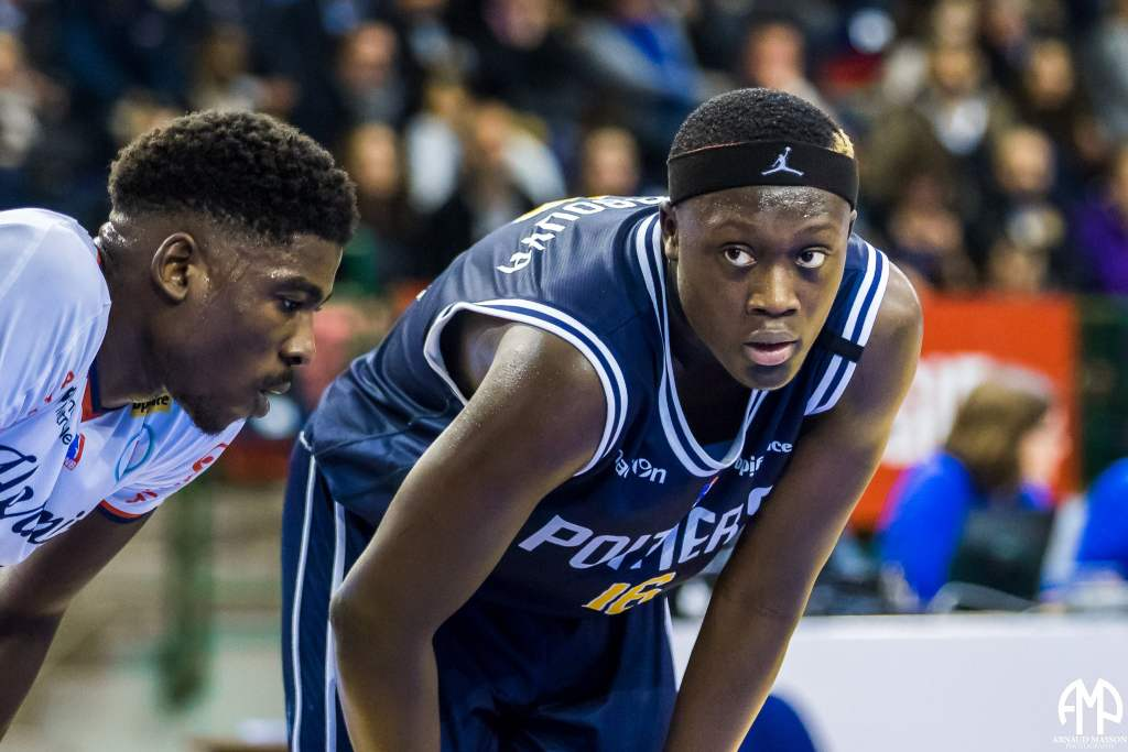 Sekou Doumbouya, grand talent du basket français