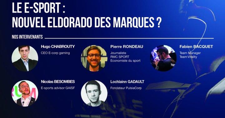 « RENCONTRES SPORT BUSINESS » – Le E-Sport : Nouvel eldorado des marques ?