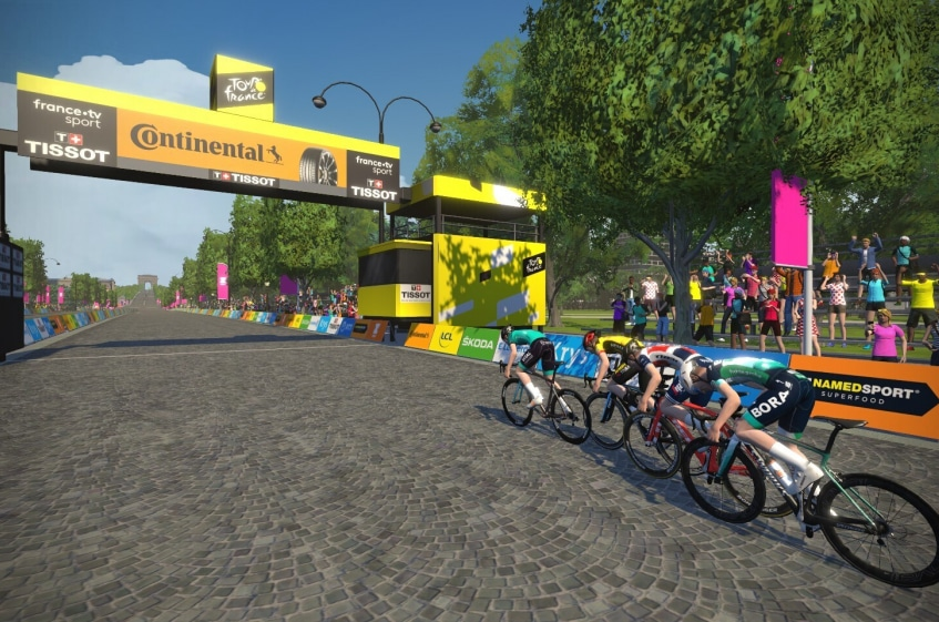 Tour de France virtuel