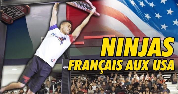 En vidéo – Avec la Team France au championnat du monde de NINJA !