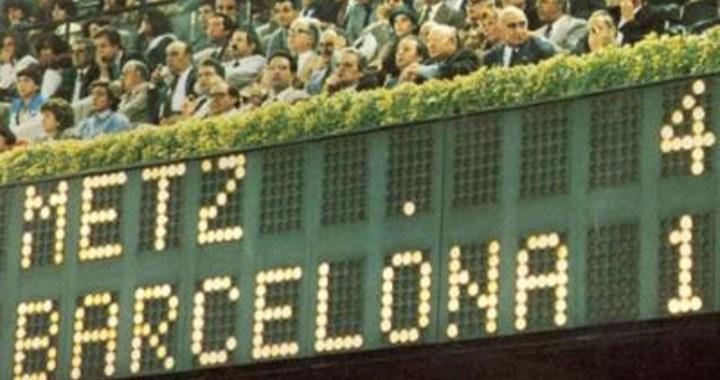 Exploit du sport français – Metz vs. Barcelone (1984)