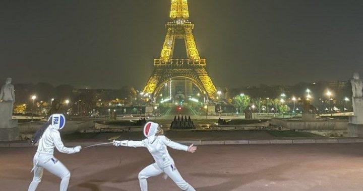 En vidéo – Paris la nuit avec l'escrimeuse Pauline Ranvier