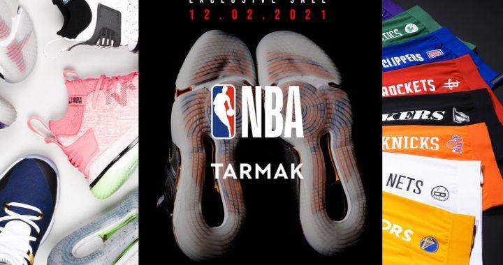 Tarmak x NBA – Lancement officiel de la collaboration
