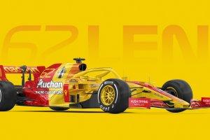Graphisme – Des F1 aux couleurs des clubs de Ligue 1