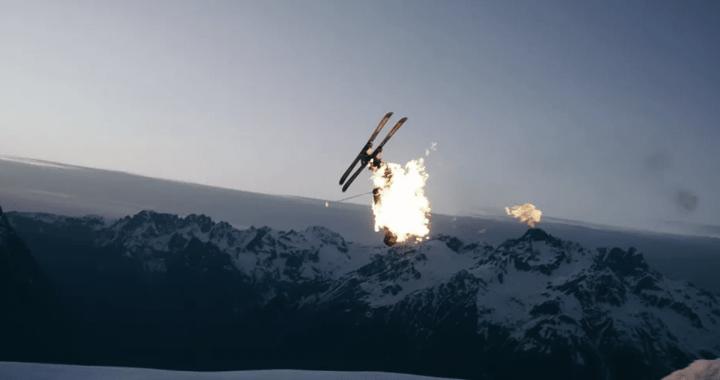En vidéo – Hugo Manhes revient avec « Un skieur en feu »