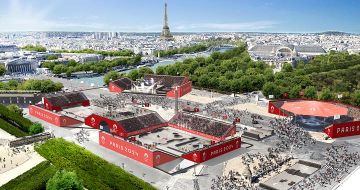 Paris 2024 dévoile le futur site olympique de la Place de la Concorde