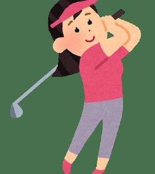 大里桃子 ゴルフ