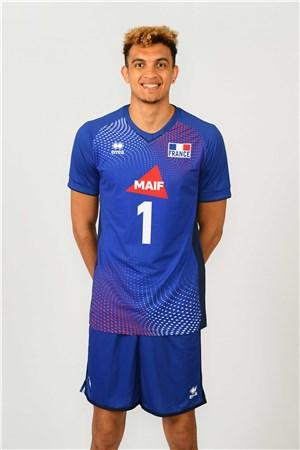 バルテレミ・シネニエズ、CHINENYEZE、バレーボールフランス男子選手(2020-2021東京オリンピック代表)
