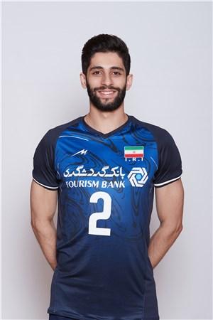2ミラド・エバディプール/Milad Ebadipour、バレーボールイラン代表選手(東京オリンピック2020-2021出場)