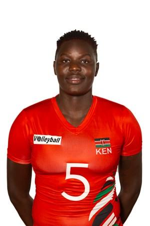 シャロン・キプロノ/Sharon Chepchumba Kiprono、バレーボールケニア代表選手(東京オリンピック2020-2021出場)