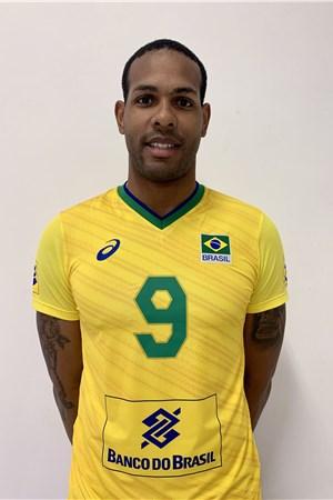 イオアンディ・レアル・ホアンドリ/Yoandy Leal Hidalgo、バレーボールブラジル代表選手(東京オリンピック2020-2021出場)