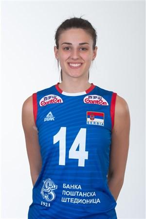 14マヤ・アレクシッチ/Maja Aleksic、バレーボールセルビア代表選手(東京オリンピック2020-2021出場)