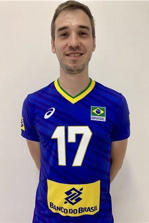 タレス・オス/Thales Hoss、バレーボールブラジル代表選手(東京オリンピック2020-2021出場)