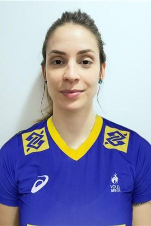 カミラ・ブライト/Camila de Paula Brait、バレーボールブラジル代表選手(東京オリンピック2020-2021出場)