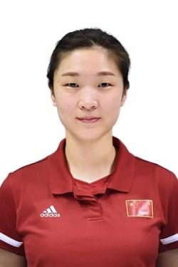 王夢潔/Wang Mengjie/オウ・ムケツ、バレーボール中国代表選手(東京オリンピック2020-2021出場)