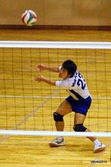 古賀太一郎、バレーボール選手、リベロ、国際武道大学時代