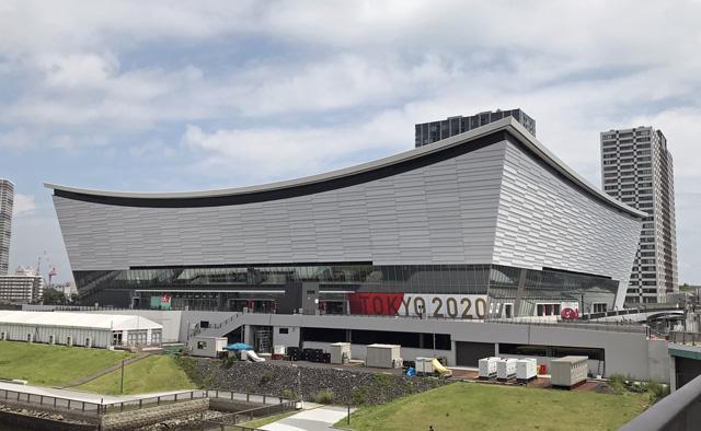 有明アリーナ/東京オリンピック・バレーボール競技会場, Ariake Arena, Volleyball court Tokyo olympic games 2020-2021