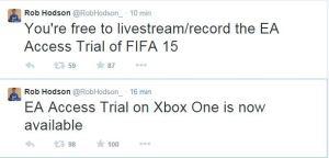 EA Access Trial