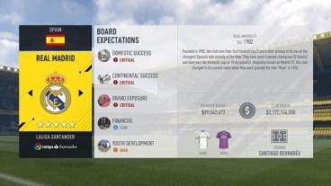 Real Madrid Career