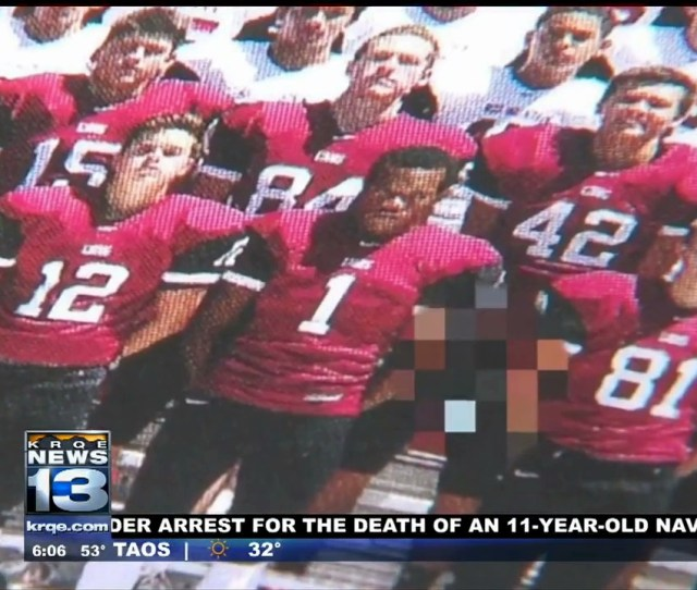 High School Football Players Exposes Himself In Team Photo Prank Faces 69 Misdemeanor Charges Vice Sports