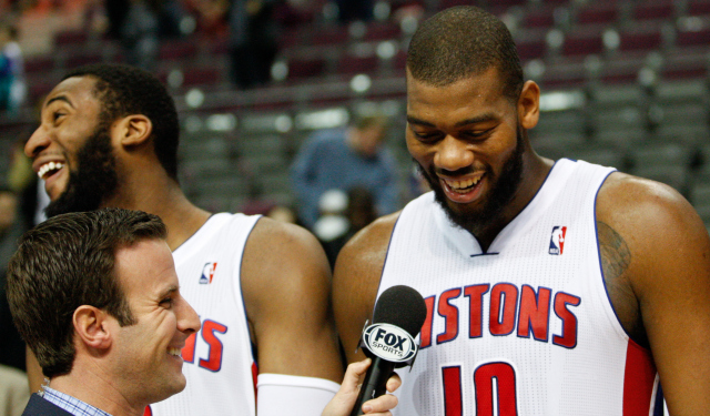 Greg Monroe will be a restricted free agent in July.