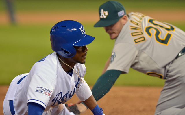 Image result for al wildcard game 2014 dyson steals third
