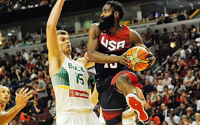 James Harden is eager to take on a featured role with Team USA. (USATSI)