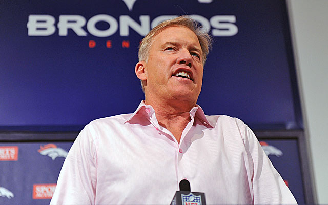 John Elway faces a big decision when it comes to his executives running afoulof the law. (USATSI)