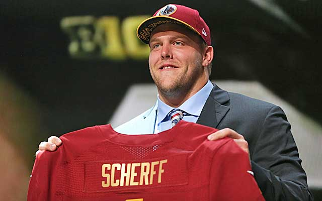 Brandon Scherff will make more than Amari Cooper despite going a pick after Cooper. (USATSI)