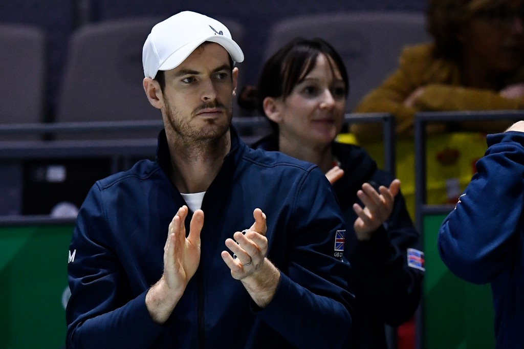Photo of Andy Murray to return to action for charity in June