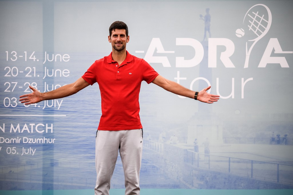 Photo of Fans welcome as Djokovic event helps tennis emerge from coronavirus