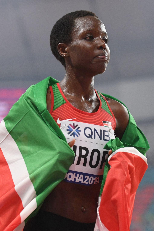 Agnes Tirop: Slain 'jewel' in Kenya's athletics crown