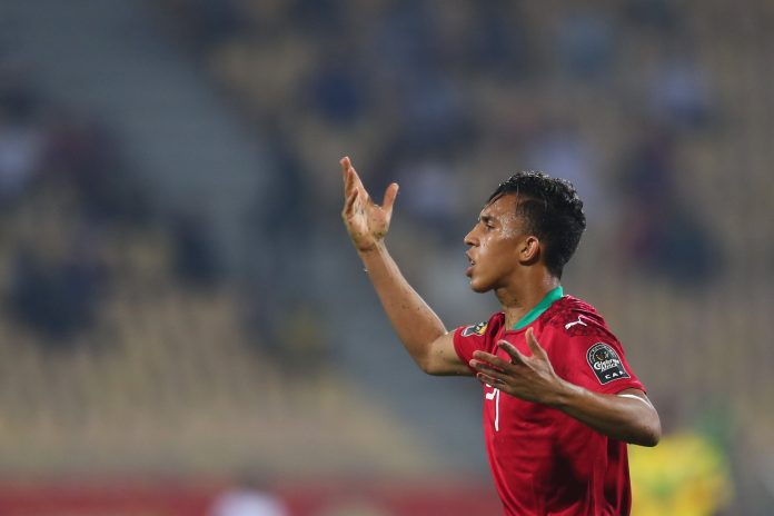 Morocco star midfielder Soufiane Rahimi has been named the best player of the TOTAL African Nations Championship, Cameroon 2020.