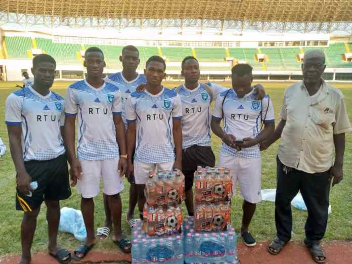 A supporter of Real Tamale United, Mr Adam's has donated assorted items to the playing body ahead of their outstanding Division One League Zone 1 fixture at home to Techiman City on Thursday