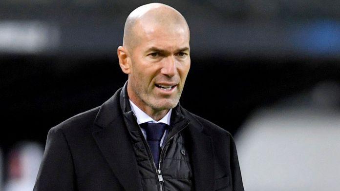 Zinedine Zidane had one year remaining on his contract