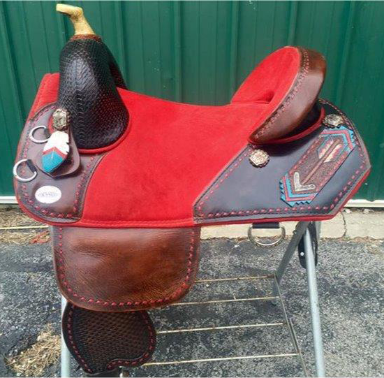 Genuine Bob Marshall Original Treeless Sports Saddle Custom Gallery
