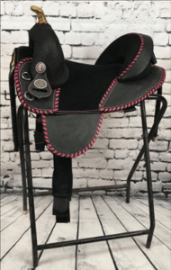 Barrel Racer - Rough-Out / Youth Cut