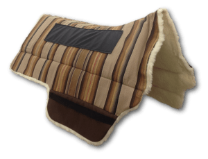 Equestrian horse Skito Equalizer Saddle Pad for BOB MARSHALL LIGHTWEIGHT TREELESS WESTERN TRAIL RIDER SADDLES for sale