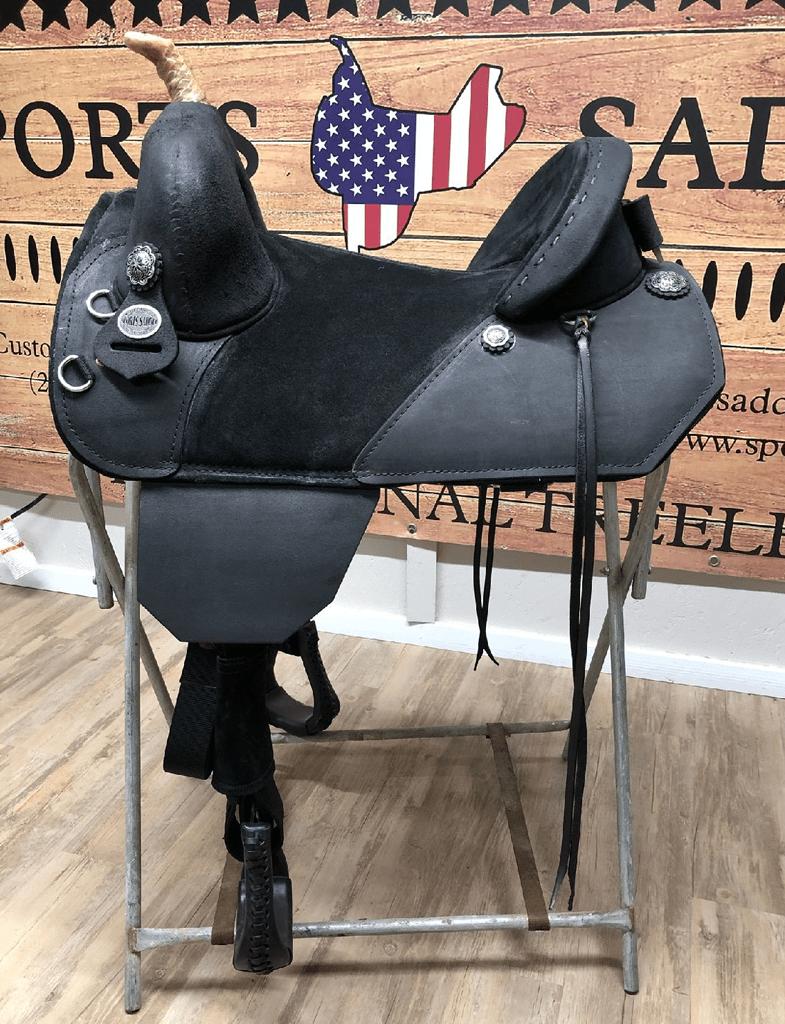 Genuine Bob Marshall Original Treeless Custom Trail Rider Sports Saddle