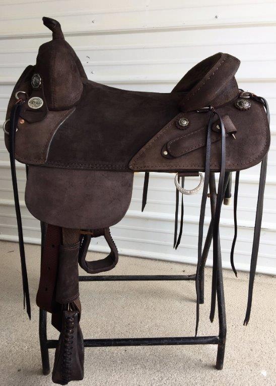 bob marshall sports saddle treeless wrangle trail rider