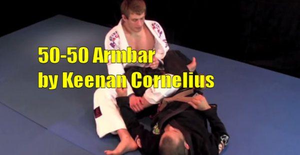 How to do the 50-50 Armbar