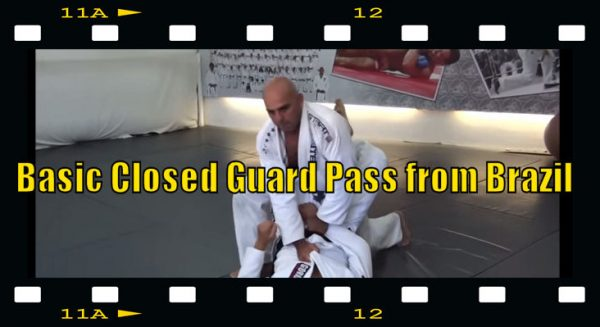 How to do aBasic Closed Guard Pass