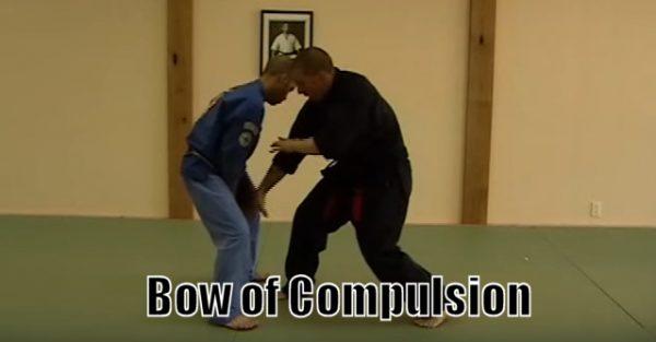 How to do Bow of Compulsion Self Defense Technique