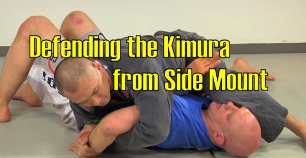 How to defend the Kimura from Side Mount