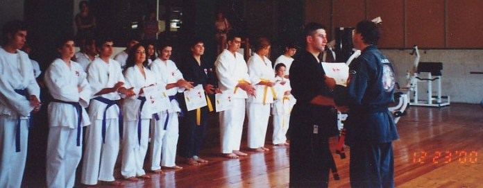 First Degree Black Belt in Kenpo Karate