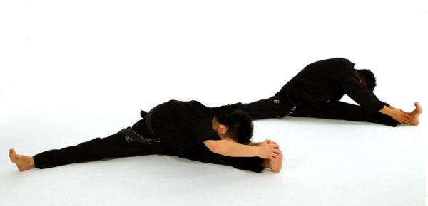 Taekwondo Stretching - How to do Basic Sitting Stretches in Taekwondo